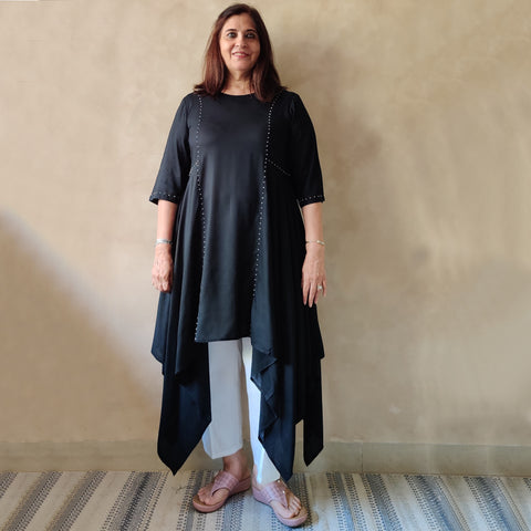 Koi Tunic - Black