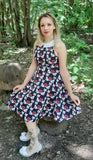Amore Del Gatto Dress - Rockamilly-Dresses-Vintage