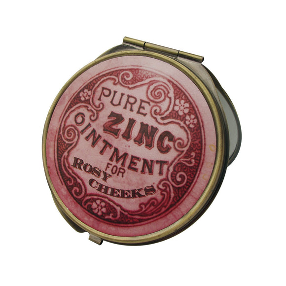 Apothecary Compact Mirror - Rockamilly-Accessories-Vintage
