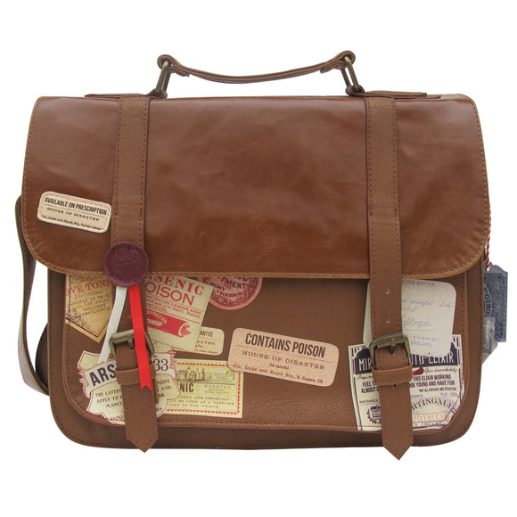 Apothecary Satchel - Rockamilly-Bags & Purses-Vintage