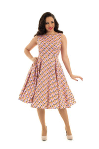 Audrina Swing Dress - Rockamilly-Dresses-Vintage
