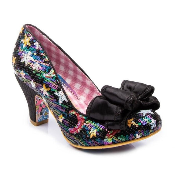 Ban Joe Black Irregular Choice - Rockamilly-Shoes-Vintage