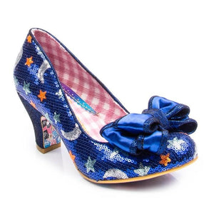 Ban Joe Royal Blue Irregular Choice - Rockamilly-Shoes-Vintage