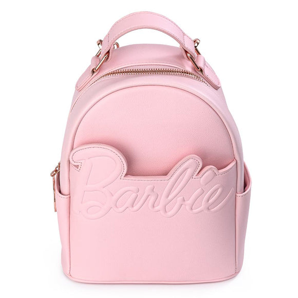 Barbie Rose Gold Chain Strap Convertible Mini Backpack - Rockamilly-Bags & Purses-Vintage