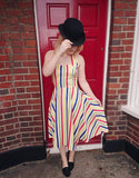 Barnum Halter Swing Dress Rockamilly - Rockamilly-Dresses-Vintage