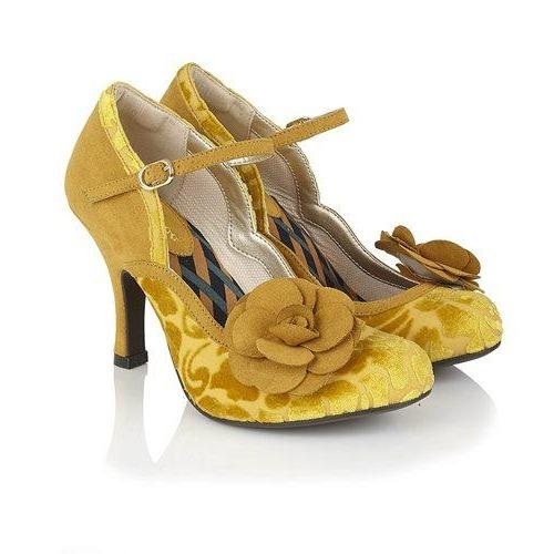 Beatrice Mustard - Rockamilly-Shoes-Vintage