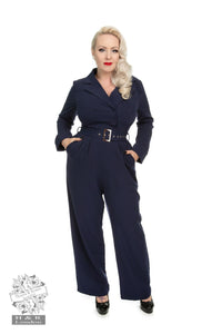 Bettie Jumpsuit - Rockamilly-Dresses-Vintage