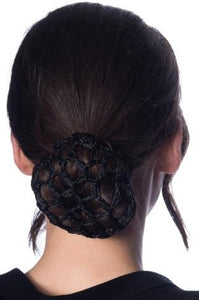 Betty Hair Snood Black - Rockamilly-Accessories-Vintage