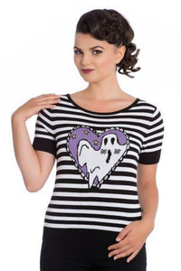 Boo! Top - Rockamilly-Dresses-Vintage