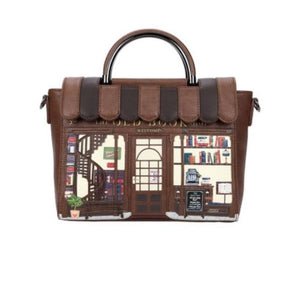 Book Shop Vanity Bag Coffee Shop Vendula - Rockamilly-Bags & Purses-Vintage