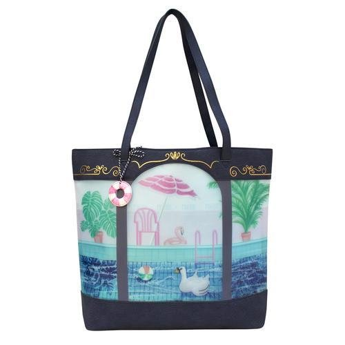 Boulevard Swimming Baths Tote Bag - Rockamilly-Bags & Purses-Vintage