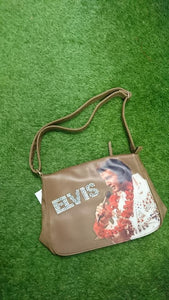 Brown Elvis Satchel