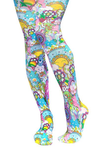 Care Bears Tights Irregular Choice - Rockamilly-Shoes-Vintage