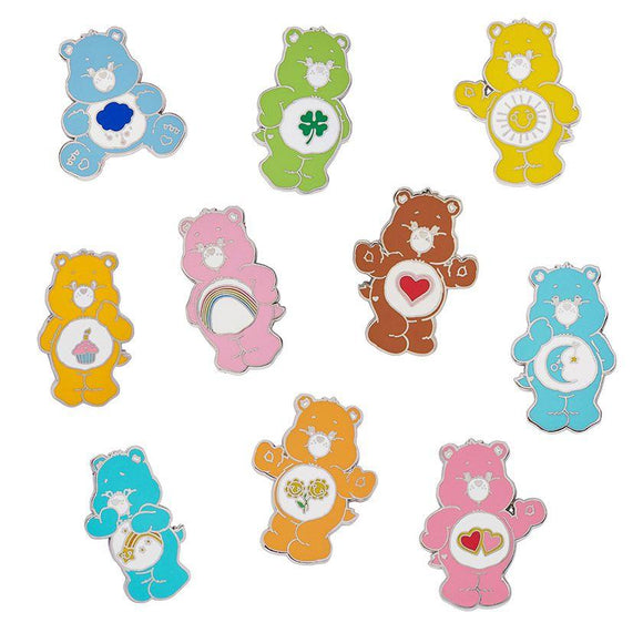Carebear Enamel Pin Full Set Erstwilder - Rockamilly-Accessories-Vintage