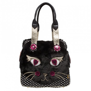 Cat Call Bag - Rockamilly-Bags & Purses-Vintage