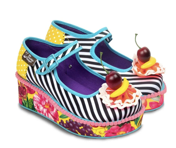 Chocolaticas® Carmen Miranda Women's Platform - Rockamilly-Shoes-Vintage