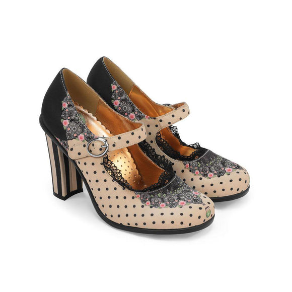 Chocolaticas® Doris High Heels - Rockamilly-Shoes-Vintage