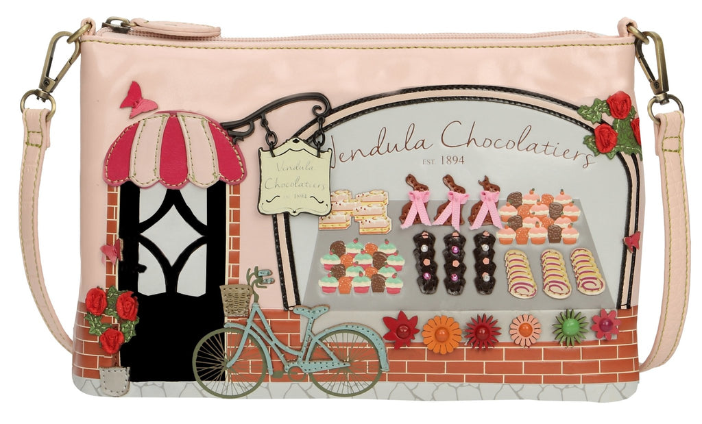 Chocolatiers Pouch Bag Vendula - Rockamilly-Bags & Purses-Vintage