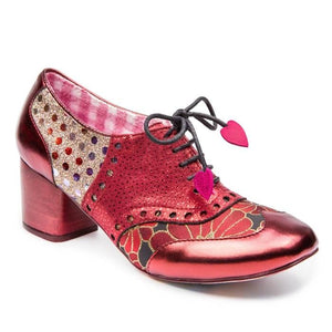 Clara Bow Burgundy - Rockamilly-Shoes-Vintage