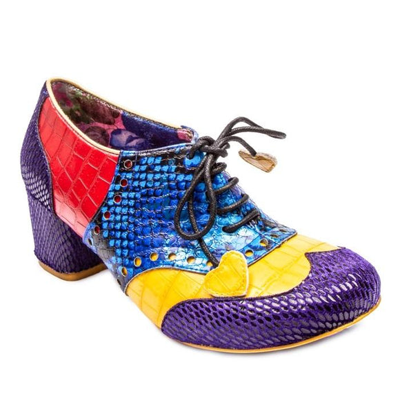 Clara Bow Purple - Rockamilly-Shoes-Vintage