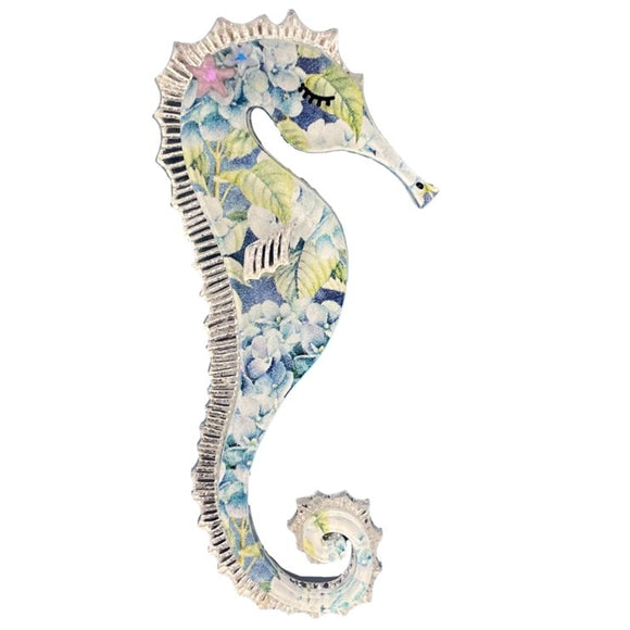 Cleo the Seahorse Brooch - Rockamilly-Jewellery-Vintage