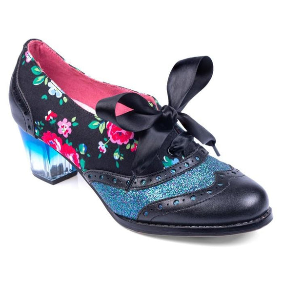 Corporate Beauty Black Irregular Choice - Rockamilly-Shoes-Vintage