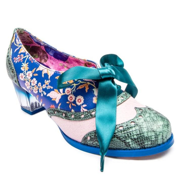 Corporate Beauty Blue/Green - Rockamilly-Shoes-Vintage