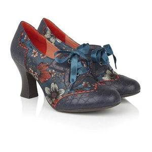 Daisy Cyan Ruby Shoo - Rockamilly-Shoes-Vintage