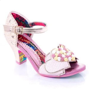 Darling Bud Pink Irregular Choice - Rockamilly-Shoes-Vintage