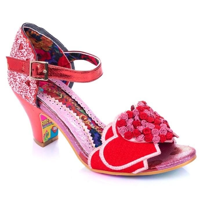 Darling Bud Red Irregular Choice - Rockamilly-Shoes-Vintage