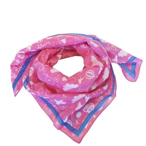 Daydream Pink Scarf - Rockamilly-Accessories-Vintage
