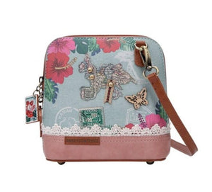 Destination Paradise Crossbody - Rockamilly-Bags & Purses-Vintage