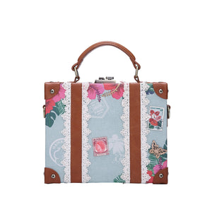 Destination Paradise Trunk Bag Vendula - Rockamilly-Bags & Purses-Vintage