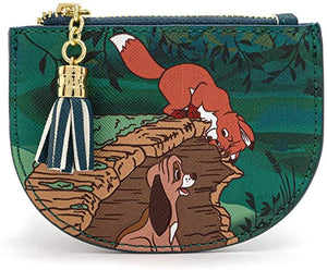 Disney Fox & the Hound Peek-a-Boo Log Cardholder - Rockamilly-Bags & Purses-Vintage