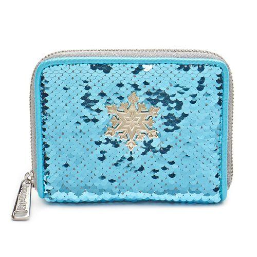 Disney Frozen Elsa Reversable Sequin Wallet Loungefly - Rockamilly-Bags & Purses-Vintage