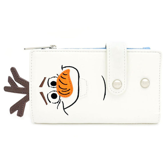 Disney Frozen Olaf Flap Wallet Loungefly - Rockamilly-Bags & Purses-Vintage