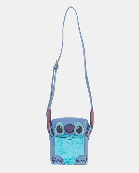 Disney Lilo & Stitch Face Crossbody Bag - Rockamilly-Bags & Purses-Vintage