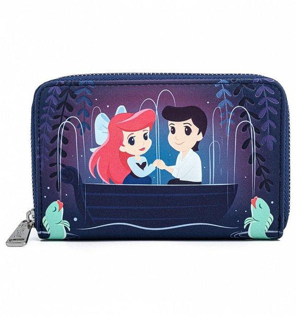 Disney The Little Mermaid Gondola Scene Wallet - Rockamilly-Bags & Purses-Vintage