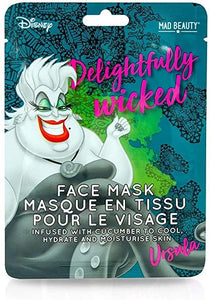 Disney Villains Ursula Face Mask - Rockamilly-Accessories-Vintage