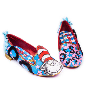 Dr Seuss Blue/Pink - Rockamilly-Shoes-Vintage