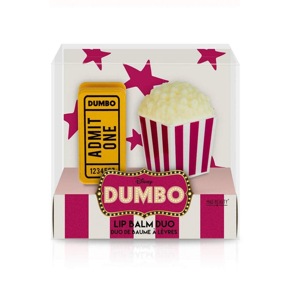 Dumbo Ticket & Popcorn Lipbalm Duo - Rockamilly-Accessories-Vintage