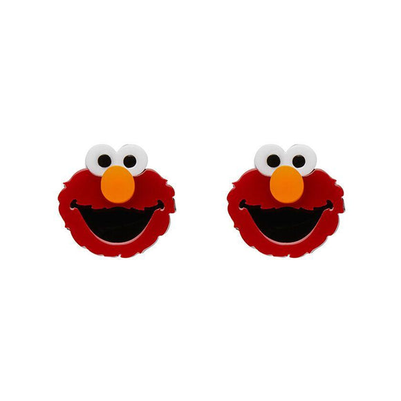 Elmo Earrings Sesame St Erstwilder - Rockamilly-Jewellery-Vintage