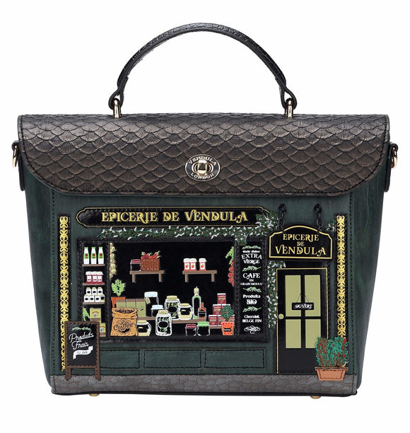 Epicerie De Vendula Backpack - Rockamilly-Bags & Purses-Vintage