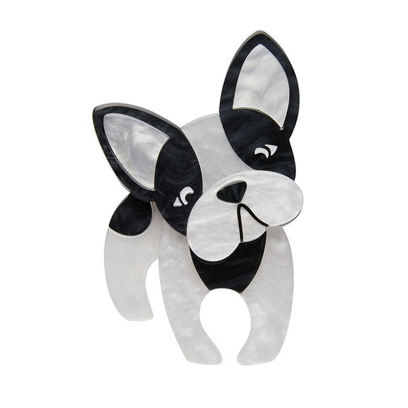 Fabian The French Bulldog Brooch - Rockamilly-Jewellery-Vintage