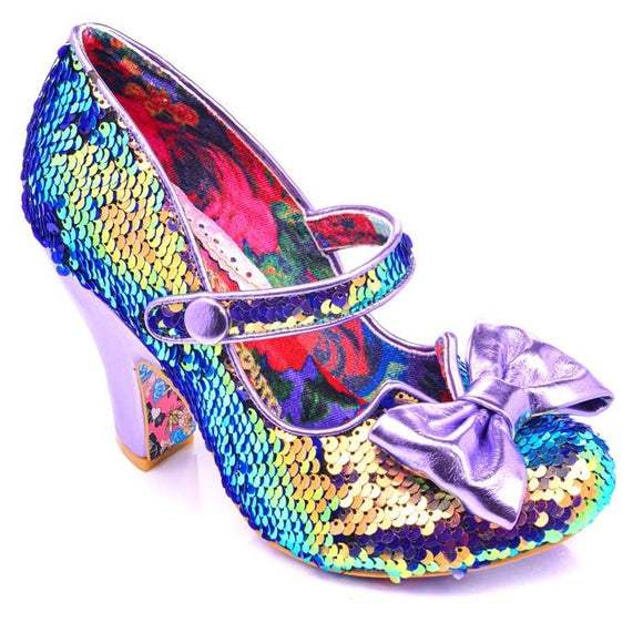 Fancy That Blue/Purple - Rockamilly-Shoes-Vintage