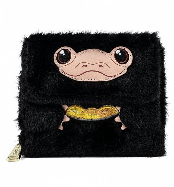 Fantastic Beasts Niffler Plush Wallet - Rockamilly-Bags & Purses-Vintage