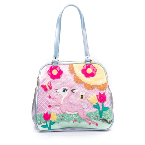 Fawntastic Bag Reunion Collection Irregular Choice - Rockamilly-Bags & Purses-Vintage
