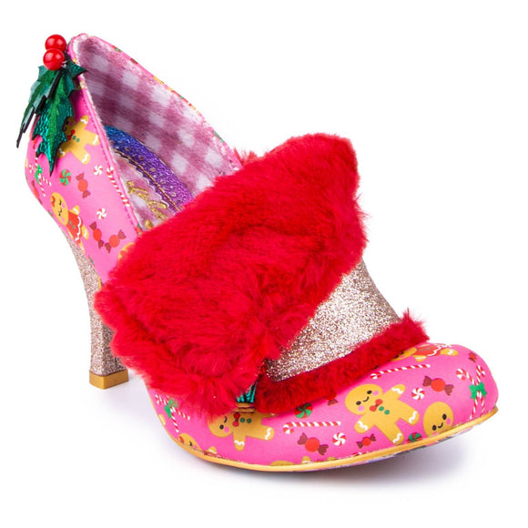 Festive Flack Pink - Rockamilly-Shoes-Vintage