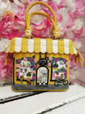 Flower Shop Mini Grab Bag Vendula - Rockamilly-Bags & Purses-Vintage