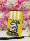 Flower Shop Phone Wallet Vendula - Rockamilly-Bags & Purses-Vintage